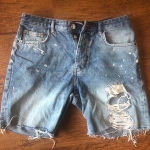 Zara Men's Jean Shorts / Jorts